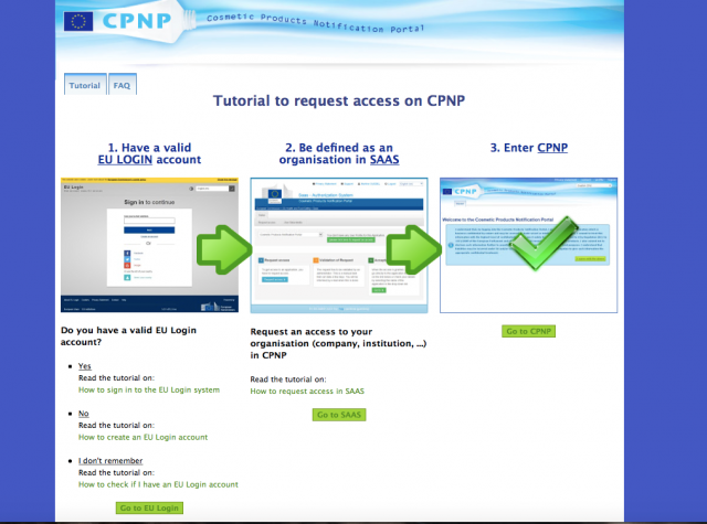 tutoriel notification cpnp produit cosmetique